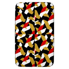 Colorful Abstract Pattern Samsung Galaxy Tab 3 (8 ) T3100 Hardshell Case
