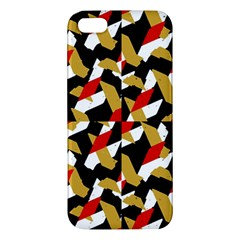 Colorful Abstract Pattern Iphone 5s/ Se Premium Hardshell Case