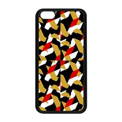 Colorful Abstract Pattern Apple Iphone 5c Seamless Case (black)