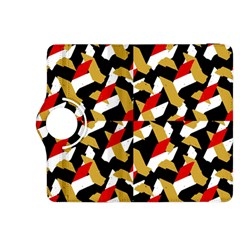 Colorful Abstract Pattern Kindle Fire Hdx 8 9  Flip 360 Case
