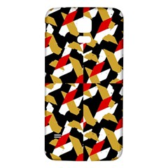 Colorful Abstract Pattern Samsung Galaxy S5 Back Case (white)