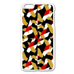 Colorful Abstract Pattern Apple Iphone 6 Plus/6s Plus Enamel White Case