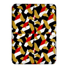 Colorful Abstract Pattern Samsung Galaxy Tab 4 (10 1 ) Hardshell Case