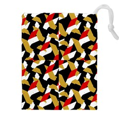 Colorful Abstract Pattern Drawstring Pouches (xxl)