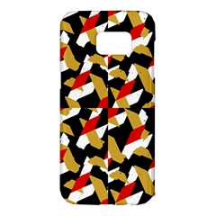 Colorful Abstract Pattern Samsung Galaxy S7 Edge Hardshell Case