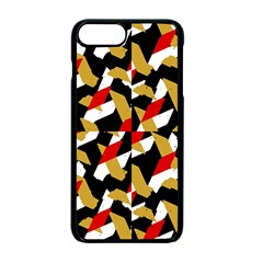 Colorful Abstract Pattern Apple Iphone 7 Plus Seamless Case (black)