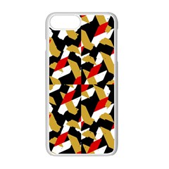 Colorful Abstract Pattern Apple Iphone 7 Plus Seamless Case (white)