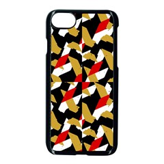 Colorful Abstract Pattern Apple Iphone 7 Seamless Case (black)