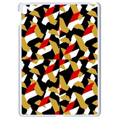 Colorful Abstract Pattern Apple Ipad Pro 9 7   White Seamless Case