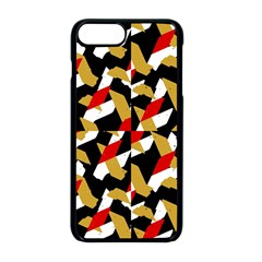 Colorful Abstract Pattern Apple Iphone 8 Plus Seamless Case (black)