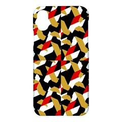 Colorful Abstract Pattern Apple Iphone X Hardshell Case