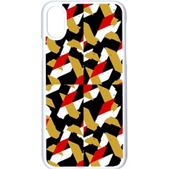 Colorful Abstract Pattern Apple Iphone X Seamless Case (white)