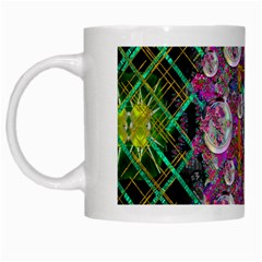 The Most Beautiful Planet Is Earth On The Sky White Mugs