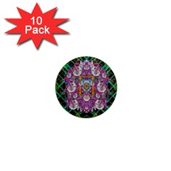 The Most Beautiful Planet Is Earth On The Sky 1  Mini Magnet (10 Pack)