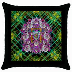 The Most Beautiful Planet Is Earth On The Sky Throw Pillow Case (black)