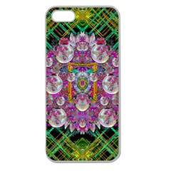 The Most Beautiful Planet Is Earth On The Sky Apple Seamless Iphone 5 Case (clear)
