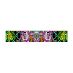 The Most Beautiful Planet Is Earth On The Sky Flano Scarf (mini)