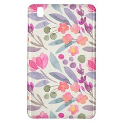 Purple And Pink Cute Floral Pattern Samsung Galaxy Tab Pro 8 4 Hardshell Case
