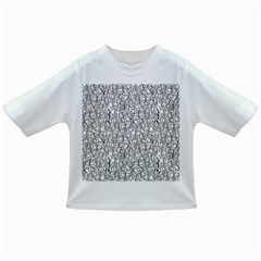 Elio s Shirt Faces In Black Outlines On White Infant/toddler T Shirts