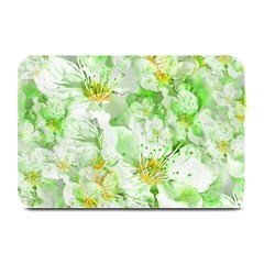 Light Floral Collage  Plate Mats