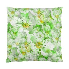 Light Floral Collage  Standard Cushion Case (two Sides)