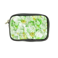 Light Floral Collage  Coin Purse