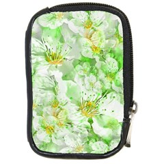 Light Floral Collage  Compact Camera Cases