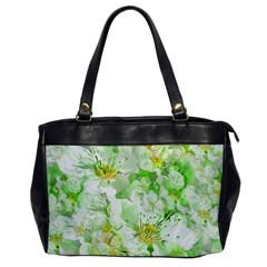 Light Floral Collage  Office Handbags