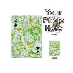 Light Floral Collage  Playing Cards 54 (mini)