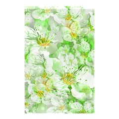 Light Floral Collage  Shower Curtain 48  X 72  (small)