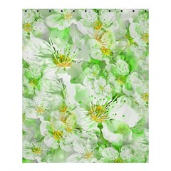 Light Floral Collage  Shower Curtain 60  X 72  (medium)
