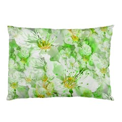 Light Floral Collage  Pillow Case (two Sides)