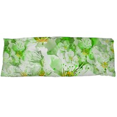 Light Floral Collage  Body Pillow Case Dakimakura (two Sides)