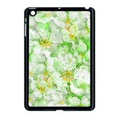Light Floral Collage  Apple Ipad Mini Case (black)