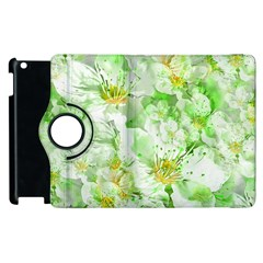 Light Floral Collage  Apple Ipad 3/4 Flip 360 Case