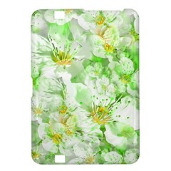 Light Floral Collage  Kindle Fire Hd 8 9