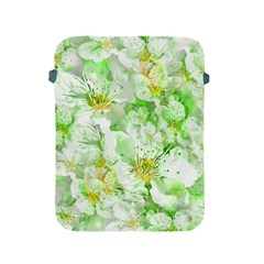 Light Floral Collage  Apple Ipad 2/3/4 Protective Soft Cases