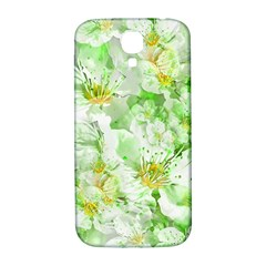 Light Floral Collage  Samsung Galaxy S4 I9500/i9505  Hardshell Back Case