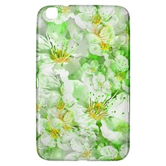 Light Floral Collage  Samsung Galaxy Tab 3 (8 ) T3100 Hardshell Case