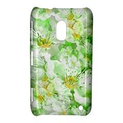 Light Floral Collage  Nokia Lumia 620