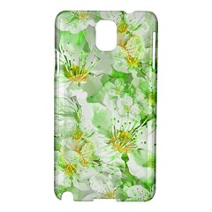 Light Floral Collage  Samsung Galaxy Note 3 N9005 Hardshell Case