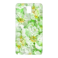 Light Floral Collage  Samsung Galaxy Note 3 N9005 Hardshell Back Case