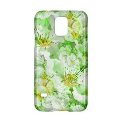 Light Floral Collage  Samsung Galaxy S5 Hardshell Case