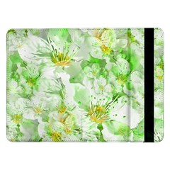 Light Floral Collage  Samsung Galaxy Tab Pro 12 2  Flip Case