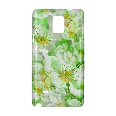 Light Floral Collage  Samsung Galaxy Note 4 Hardshell Case
