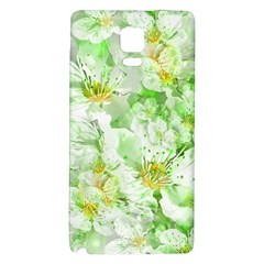 Light Floral Collage  Galaxy Note 4 Back Case