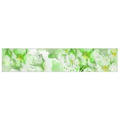 Light Floral Collage  Small Flano Scarf