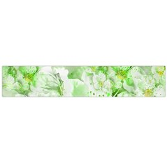 Light Floral Collage  Large Flano Scarf