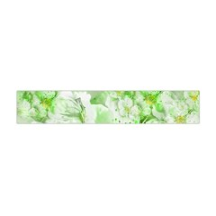 Light Floral Collage  Flano Scarf (mini)