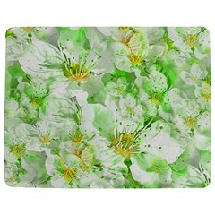 Light Floral Collage  Jigsaw Puzzle Photo Stand (rectangular)